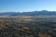 Bozeman MT areal