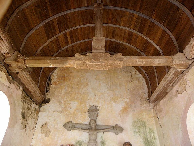Chapelle Sainte-Croix de Brée (53).