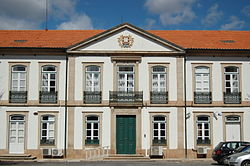 Civil Governor's residence in the district seat of Bragança