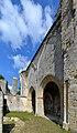 Bras nord du transept de l'église de l'ancienne abbaye Sainte-Marie.jpg