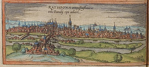Regensburg - Regensburg in the 16th century