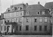 Sterbehaus in Braunschweig, 1905 (Quelle: Wikimedia)