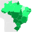 Brazilian States by teledensity.png