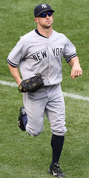 Brett Gardner - Gardner with the Yankees in 2011