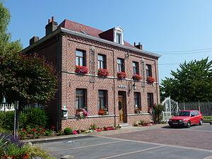 Brillon - Image: Brillon (Nord, Fr) mairie