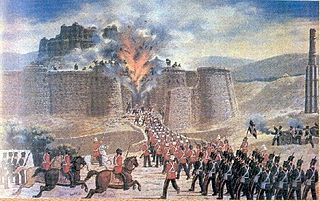 First Anglo-Afghan War War between British Empire and Emirate of Afghanistan (1839-1842)
