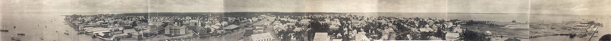 British Honduras 1914