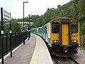 British Rail Class 150 at Ebbw Vale Parkway railway station.JPG