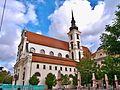 Brno, kostel Zvěstování Panny Marie a sv. Tomáše apoštola dopol.JPG
