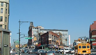 Urban culture - The Hub is the retail heart of the South Bronx, New York City. Between 1900 and 1930, the number of Bronx residents increased from 201,000 to 1,265,000.