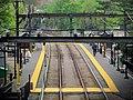Brookline Village station from Washington Street, May 2012.JPG