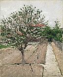 Brooklyn Museum - Apple Tree in Bloom (Pommier en fleurs) - Gustave Caillebotte.jpg