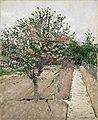 布鲁克林博物馆 - 苹果树布卢姆(Pommier开花) - 古斯塔夫·Caillebotte.jpg