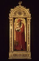 Brooklyn Museum - Saint Jerome, part of an altarpiece - Donato de' Bardi - overall.jpg