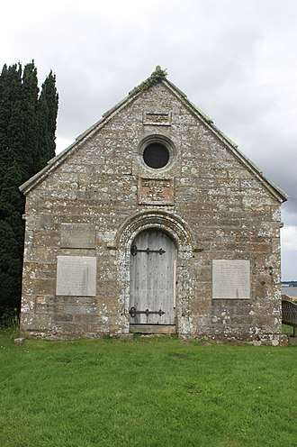 William Bruce (architect) - The Bruce family vault, old Kinross churchyard