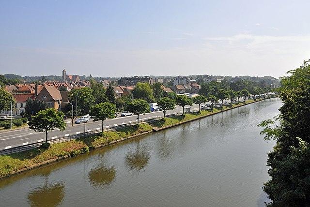 Canal Gand-Bruges