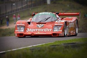 Brun Motorsport - A Porsche 962C in Brun Motorsport's Jägermeister livery