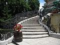 Bucuresti, Romania. Casa Oamenilor de Stiinta. (CASA ASSAN). Trepte si flori. (B-II-m-B-19009).jpg