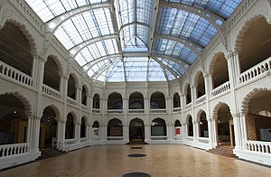 Museum of Applied Arts (Budapest) - The atrium