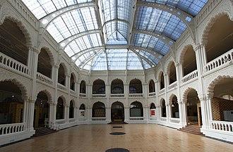Museum of Applied Arts (Budapest) - The atrium