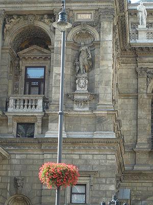 Budapest Opera detail