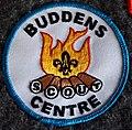 Buddens Scout centre badge.jpg