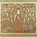 Buddha Seokgamoni (Shakyamuni) Preaching to the Assembly on Vulture Peak LACMA AC1998.268.1 (1 of 11).jpg