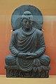 Buddha in Meditation - Schist - ca 2nd Century CE - Gandhara - Loriyan Tangai - ACCN 4855 - Indian Museum - Kolkata 2016-03-06 1484.JPG
