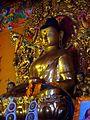 Buddha statue at Sakya kaza.jpg
