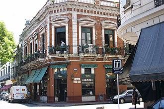 San Telmo, Buenos Aires - Dorrego Café