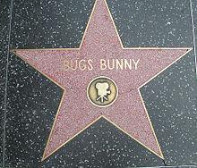 Stella di Bugs Bunny sulla Hollywood Walk of Fame, Los Angeles (California)