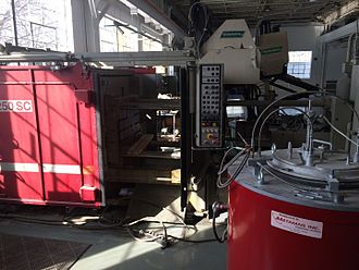 Agile tooling - Buhler die-casting and squeeze casting press