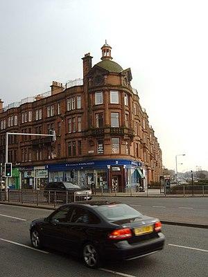 Anniesland Cross - Buildings at Anniesland Cross.