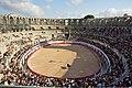 Bullfight at the amphitheatre in Arles - panoramio.jpg