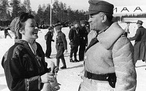 Sami history - Image: Bundesarchiv Bild 101I 101 0814 17A, Nordeuropa, Soldaten und Einheimische