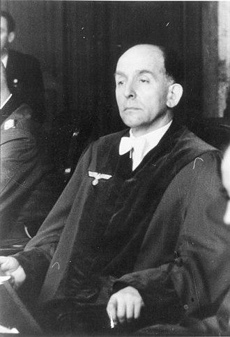 Roland Freisler - Roland Freisler, 1944