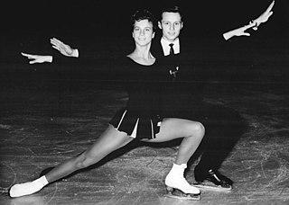 Eberhard Rüger East German ice dancer