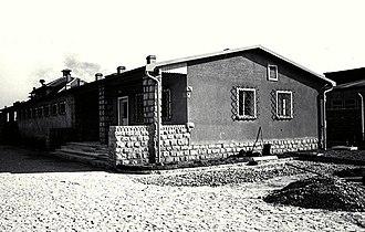 German camp brothels in World War II - Image: Bundesarchiv Bild 192 174, KZ Mauthausen, Lagerbordell Lager Gusen