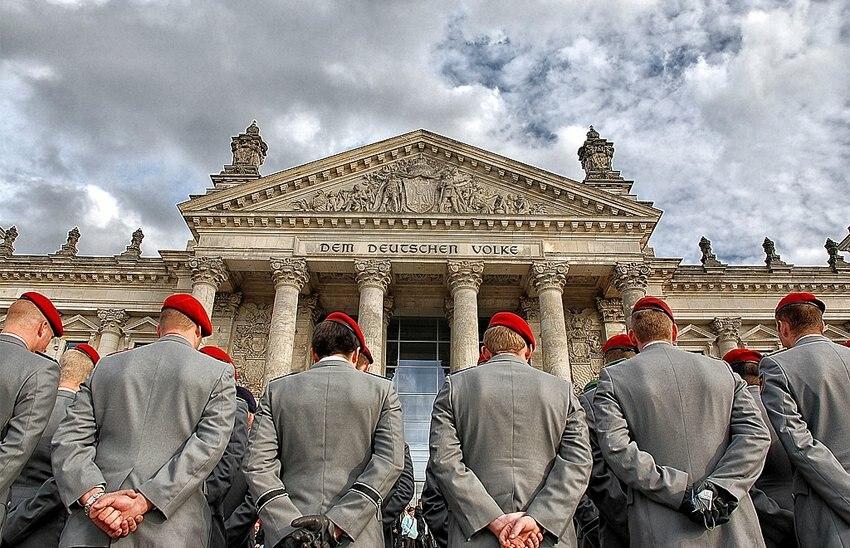 Bundeswehr Reichstag Dem Deutschen Volke