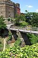 Burg Schönburg Oberwesel. Brücke des Halsgrabens.jpg