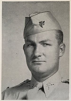 Suwannee Rifles - Captain Burnice Bell, circa 1940 commanded Company E during WWII.