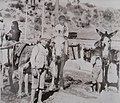 Burros transportando agua Córdoba (Argentina) comienzos del siglo 20.jpg