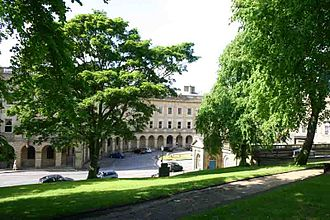 Buxton - Buxton Crescent and St Ann's Well