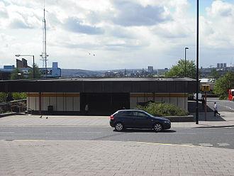 Byker - Byker Metro station