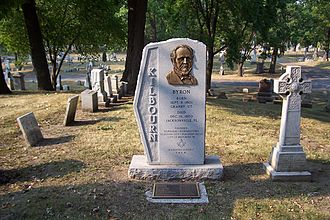 Byron Kilbourn - Monument in Forest Home Cemetery, Milwaukee.