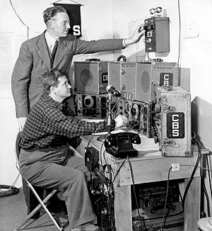 Shortwave listening - CBS shortwave listening post (May 1941)