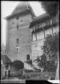CH-NB - Burgdorf, Schloss, vue partielle extérieure - Collection Max van Berchem - EAD-6660.tif