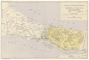 Constantinople Vilayet - Image: CUINET(1895) 4.615 Vilayet of Istanbul