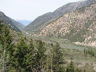 Cache National Forest - Cache National Forest along U.S. Highway 89 near Logan, Utah