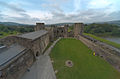 Caerphilly Castle (HDR) (8100704423).jpg